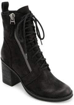 Dolce Vita Lela Lace-Up Leather Boots