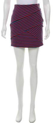 Thakoon Striped Mini Skirt