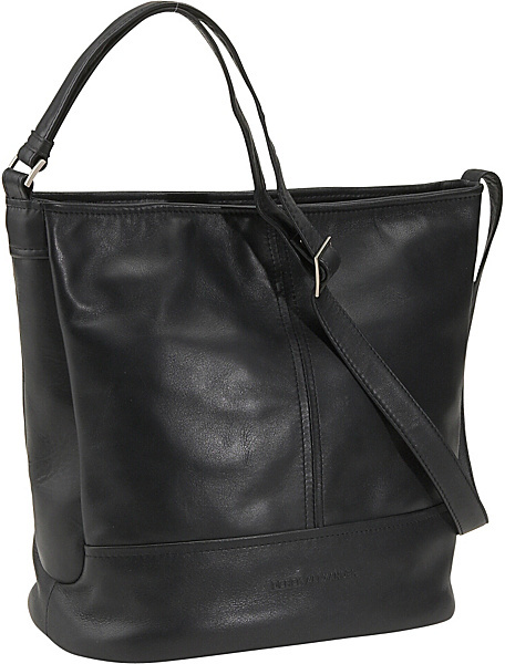 Derek Alexander North/South Double Compartment Bucket Bag