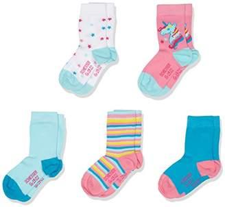 Schiesser Girl's Kindersocken (5PACK) Socks,18-24 Months pack of 5