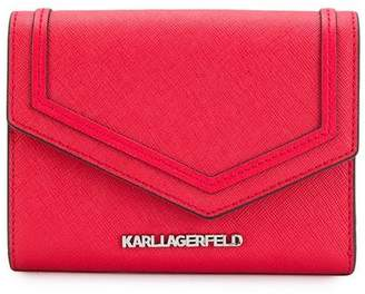 Karl Lagerfeld Paris rocky saffiano fold wallet