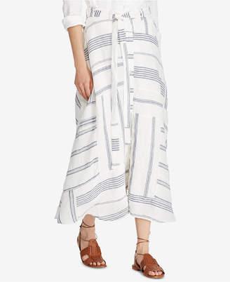 Polo Ralph Lauren (ポロ ラルフ ローレン) - Polo Ralph Lauren Patchwork Skirt