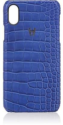Hadoro Alligator iPhone® X Hard Case - Blue
