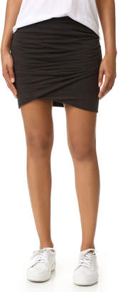 James Perse Wrap Skinny Skirt $145 thestylecure.com