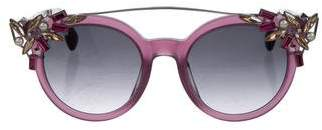 Jimmy Choo Embellished Vivy Sunglasses