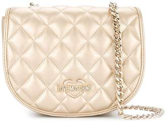 Love Moschino quilted chain strap crossbody bag
