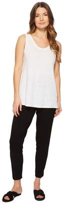 Eileen Fisher Slim Ankle Slouchy Pants Women's Casual Pants