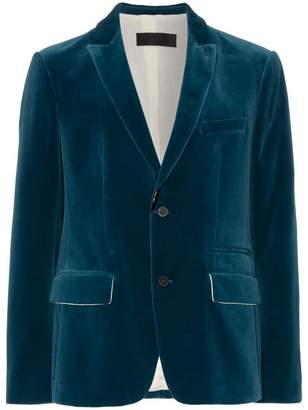 Haider Ackermann Velvet Suit Jacket