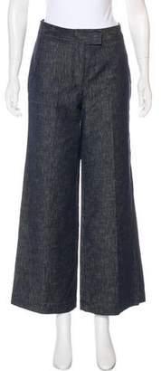 Derek Lam High-Rise Wide-Leg Jeans