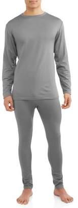 Generic Men's 2-piece microfiber fleece lined top and bottom