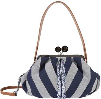 Max Mara Medium Chevron Print Pasticcino Bag