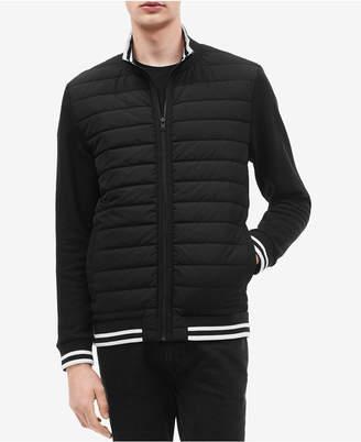 Calvin Klein Men's Quilted Full-Zip Jacket