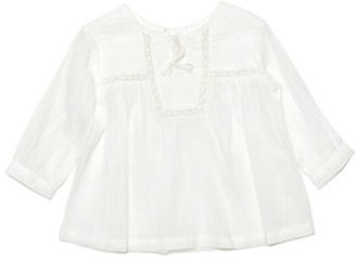 Kardashian Kids Baby Girls Cheesecloth Cotton Blouse $26.99 thestylecure.com