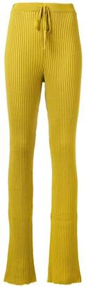 Marques Almeida Marques'almeida ribbed knitted trousers