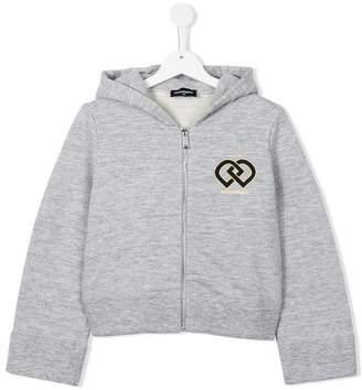 DSQUARED2 DD logo hoodie