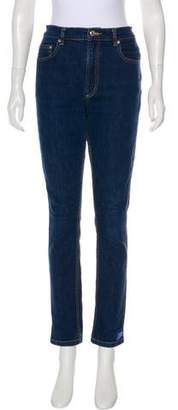 Marc by Marc Jacobs High-Rise Straight Jeans