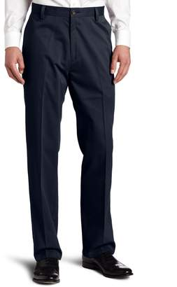 Dockers Easy Khaki D3 Classic Fit Flat-Front Pant, Navy, 38x34