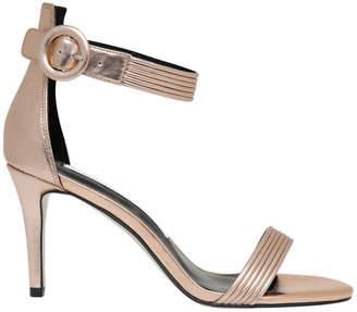 Tessa Rose Metallic Leather Sandal