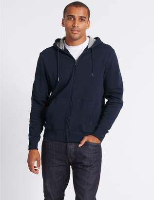 Marks and Spencer Big & Tall Pure Cotton Hoody