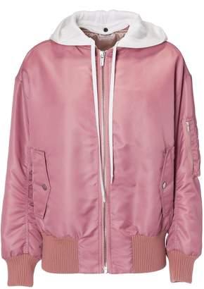 Miu Miu Hooded Bomber Jacket