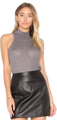 Obey Westling Mock Neck Tank $33 thestylecure.com