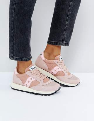 Saucony Jazz O Vintage Sneakers In Pink