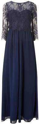 Dorothy Perkins Womens **Showcase Navy 'Rosaline' Lace Maxi Dress