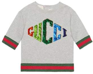 Gucci Game Patch Sweatshirt