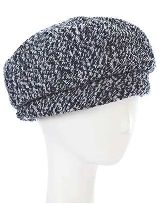 H & M Hat Company Asym cuff beret
