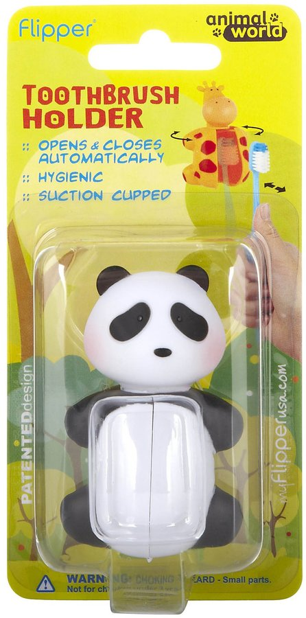 Flipper Animal World Panda Toothbrush Holder