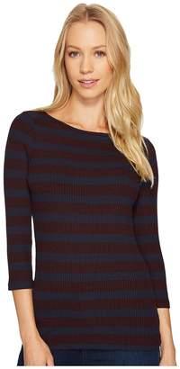 Three Dots Alpine Stripe Women's Clothing