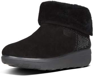 FitFlop Mukluk Shorty Ii Shimmercrystal Suede Boots