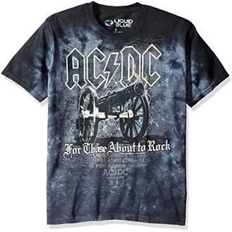 Liquid Blue Men's AC/DC Cannon Short Sleeve T-Shirt