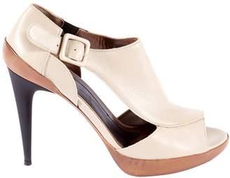 Marni Grey Glitter Heels