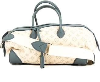 Louis Vuitton Blue Monogram Denim Speedy Round Bag (Pre Owned)