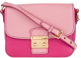 Miu Miu Miu Miu Madras Bicolore Crossbody Bag