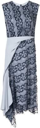 Sies Marjan draped panel lace dress