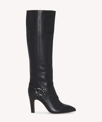 Vince Camuto Women's Charmina In Color: Black Shoes Size 5 BUTTER CALF From Sole Society