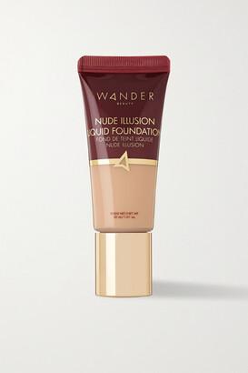 Wander Beauty - Nude Illusion Liquid Foundation - Fair