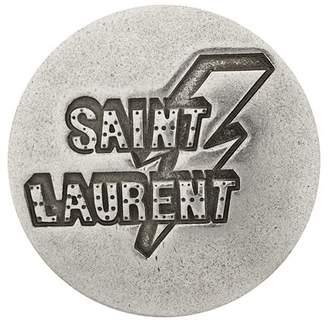 Saint Laurent logo round badge