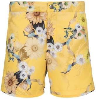 7ed7ade338 Trunks Riz Buckler Wave floral swim shorts