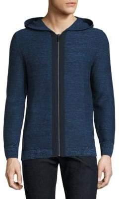 Strellson Zip-Front Cotton Hoodie