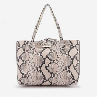 090851bed847 at Mybag.com · GUESS Women s Bobbi Inside Out Tote Bag - Natural Python