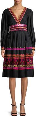 Temperley London Amity V-Neck Dress
