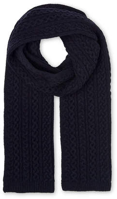 Whistles Cable Knit Scarf