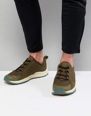 The North Face Mountain Sneakers in Green/Navy