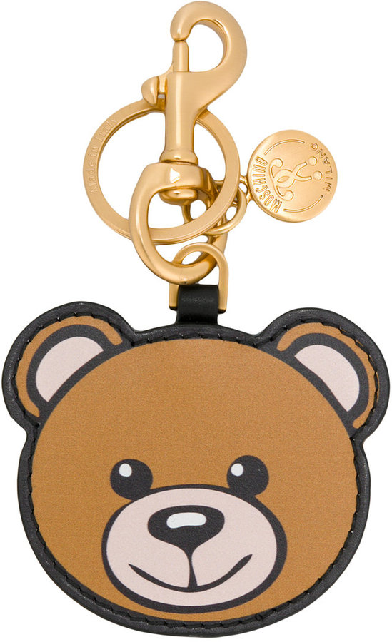 Moschino Toy bear key chain