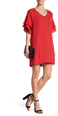 Collective Concepts Double Layer Shift Dress