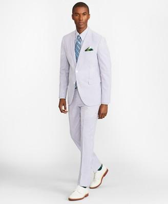 Brooks Brothers Milano Fit Stripe Seersucker Suit