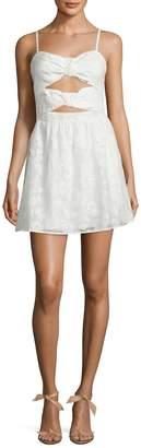 Ali & Jay Women's Cut-Out Tie Front Dress